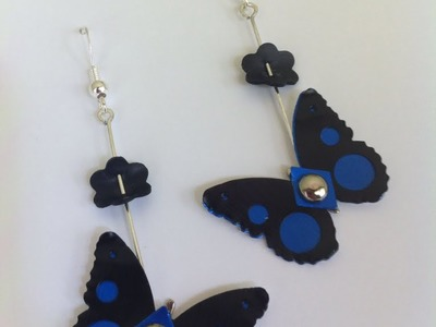 DIY Nespresso: How to make limited edition butterfly earrings