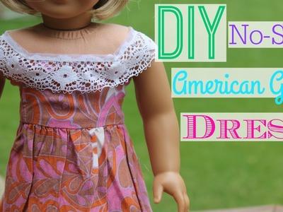 DIY No-Sew American Girl Dress!