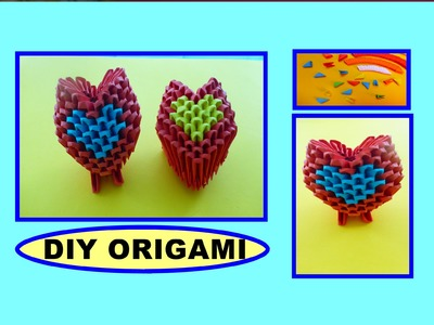 DIY ORIGAMI HEART, EASY GIFT GUIDE FOR FRIENDS & FAMILY, SIMPLE IDEAS, HERZ, EINFACHE GESCHENKIDEEN