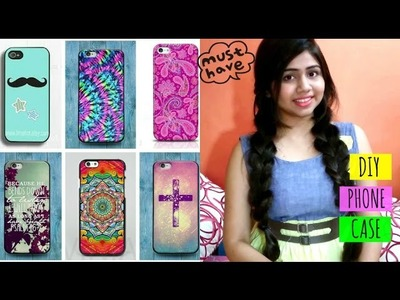 DIY Phone case | How to make Customized phone cover | Affordable | Shweta Verma