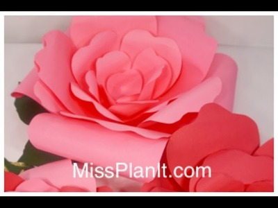 DIY: Quick Tip 3-Dimensional Paper Flower Decoration for Under $5!