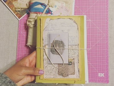 DIY - Recycled Traveler's Junk Journal Part I