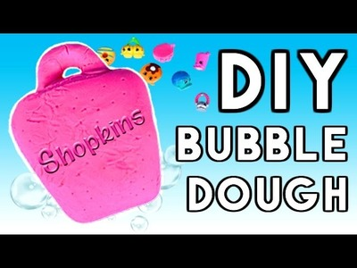 DIY Shopkins SURPRISE Bubble Dough Bar | Bath Time Play Soap!