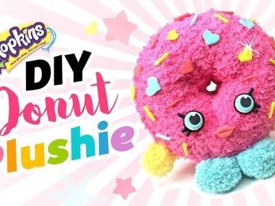 DIY Shopkins Toy Donut Plushie!! Easy & Cute Shopkins Sock Toy!