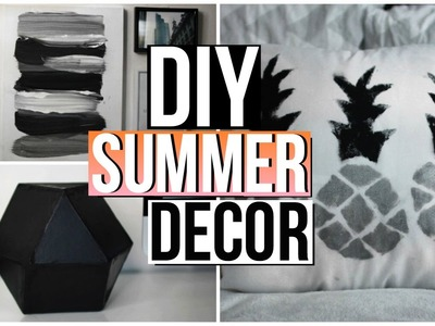 DIY SUMMER TUMBLR ROOM DECOR! Summer 2016