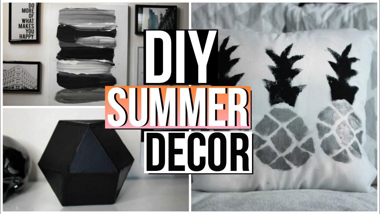 Diy summer tumblr room decor summer 2016 my crafts and for Diy room decor 2016