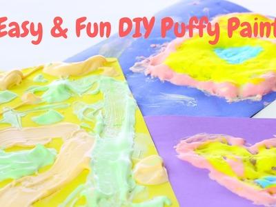 Easy & Fun DIY Puffy Paint