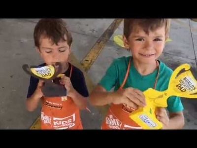 Father's Day Gift - Home Depot DIY Project for kids - Summer Ideas for Kids