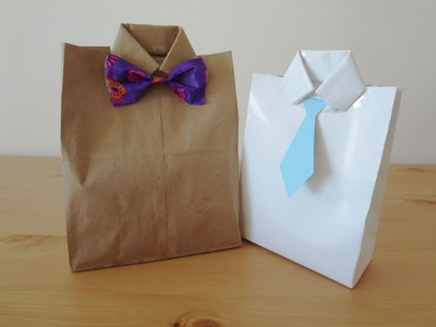 Father's Day Gift Idea - Goodie gift Bag | Sunny DIY