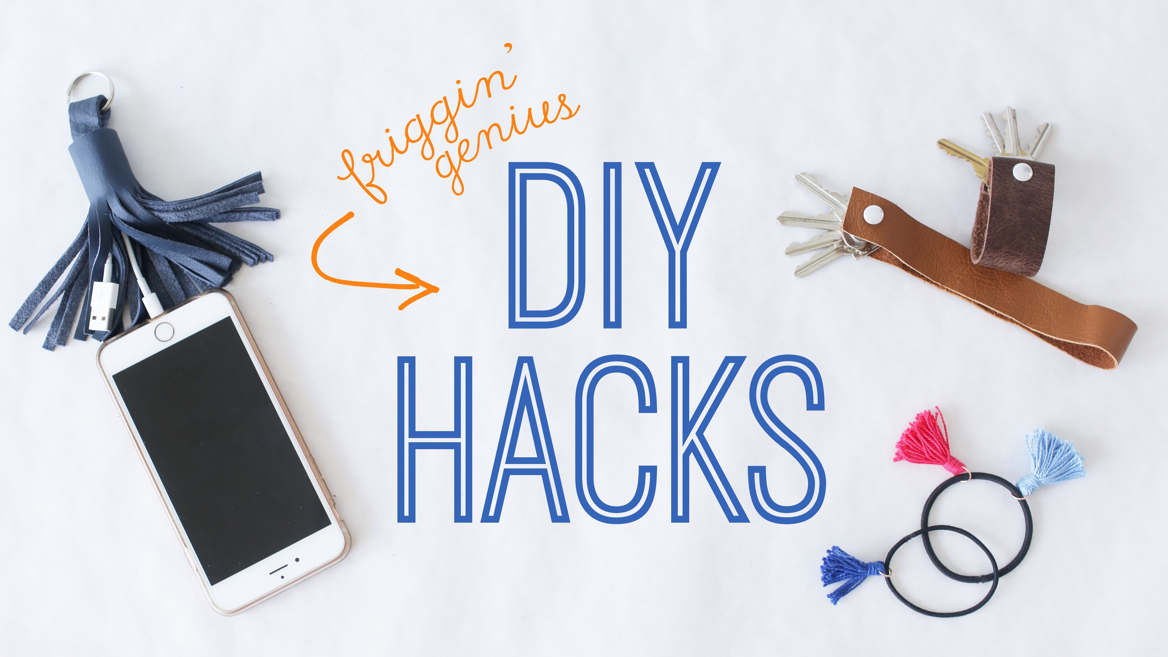 GENIUS DIY HACKS FOR EVERYDAY LIFE | THE SORRY GIRLS
