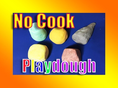 How to Make PLAY DOUGH at Home | DIY Make Your Own Play Dough NO COOK