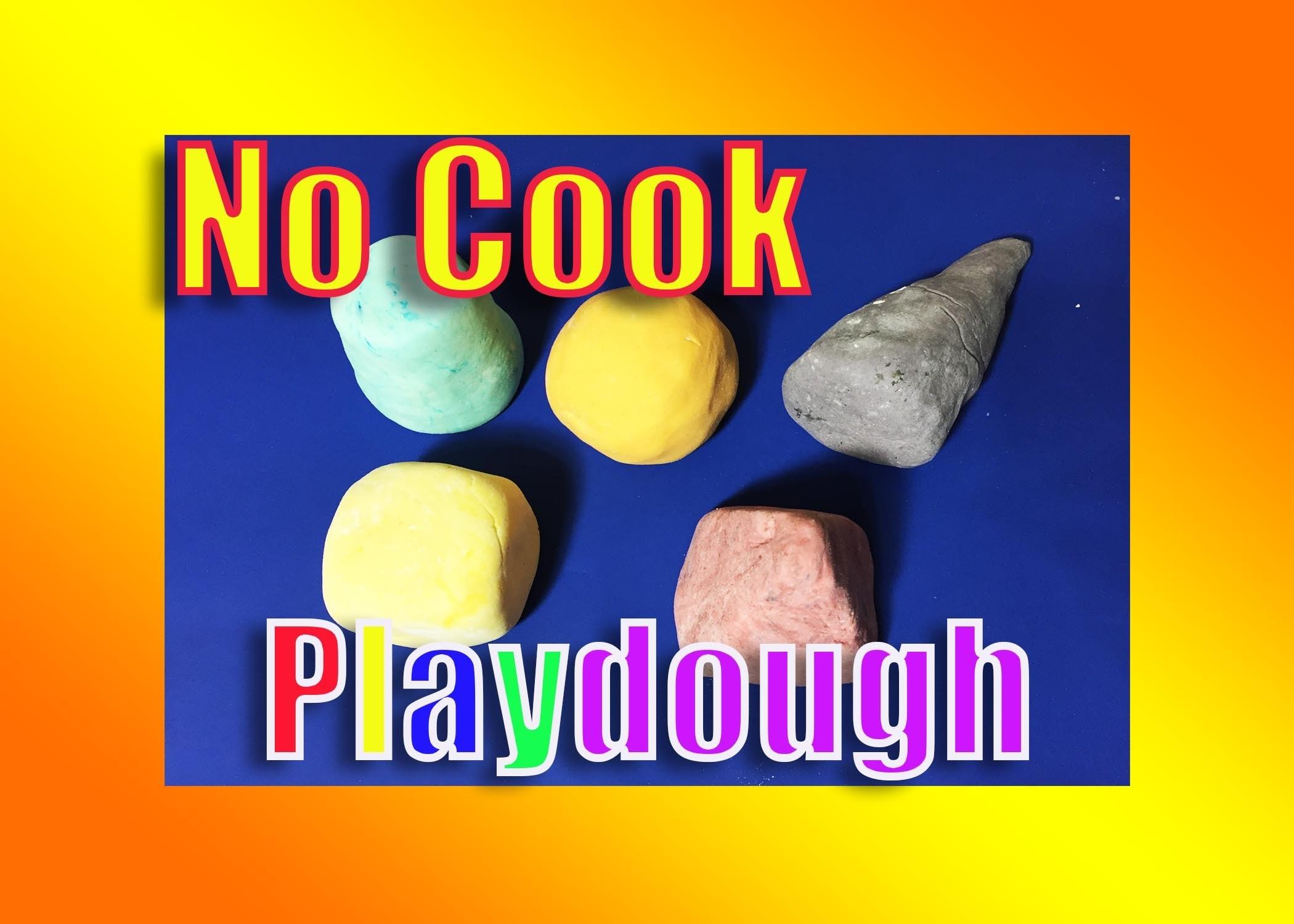 How to Make PLAY DOUGH at Home | DIY Make Your Own Play Dough NO COOK
