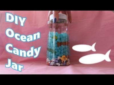 ❤ Mini DIY Project #1~! Ocean Candy Jar! ❤