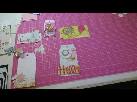 PRETTY PACKAGING SERIES~ Part 3 TAGS!!!  Tips and Tricks DIY!