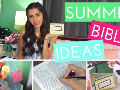 Summer Bible Ideas + DIY Devotional