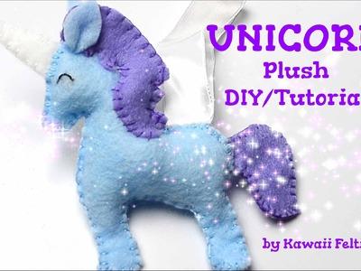 Unicorn Plush Sewing Tutorial DIY (How to DIY Crafts by Kawaii Felting)
