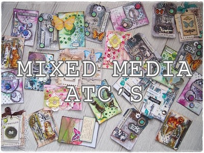 All about ATC's - Mixed Media Art Tutorial