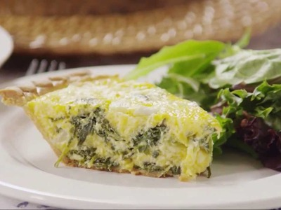 Brunch Recipes - How to Make Spinach Quiche
