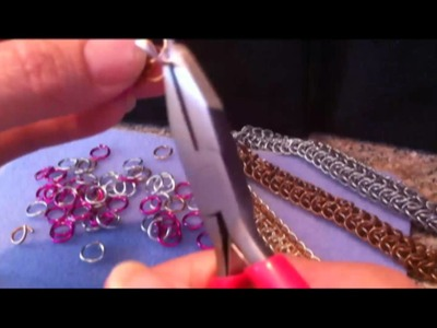 Chainmaille Tutorial - Dragonback preview