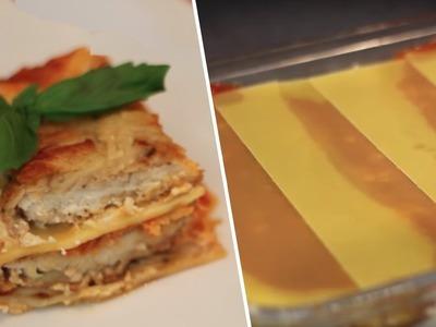 Chicken Parm Lasagna Review- Buzzfeed Test #60