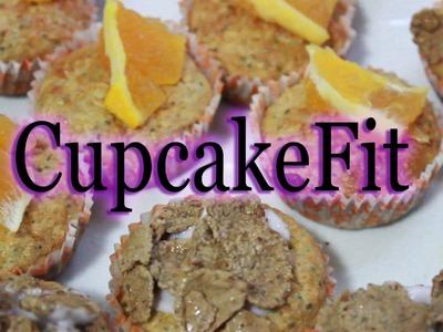 DIY: Cupcakes Fit ♥ sin harina ni azucar