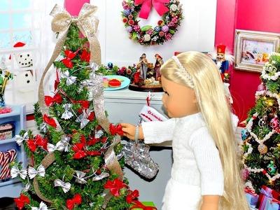 Doll Christmas Tree | DIY American Girl Doll Crafts