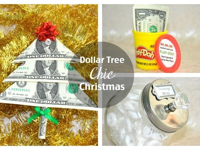 Dollar Tree Christmas DIYs | Gift Edition