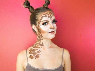 Giraffe Halloween Makeup Tutorial