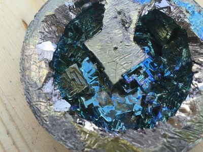 Growing Bismuth Crystals on the Stove