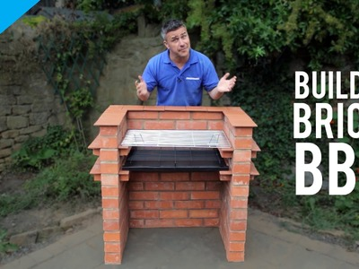 How to build a brick barbecue