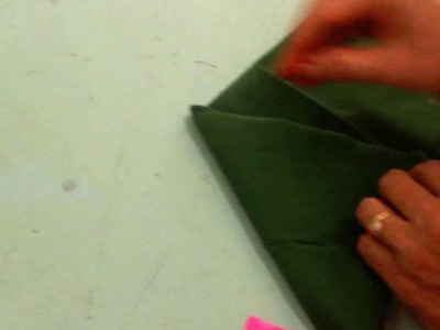 How to fold  cloth on kalasam