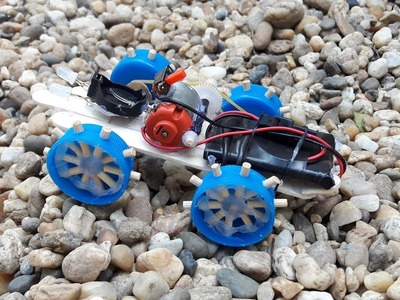 How to Make a Car - Mini Off Road Car - Simple Robbot