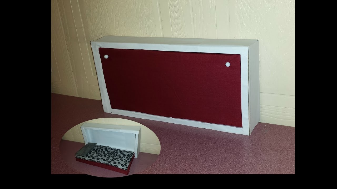 How to make a Doll Hide Away Bed