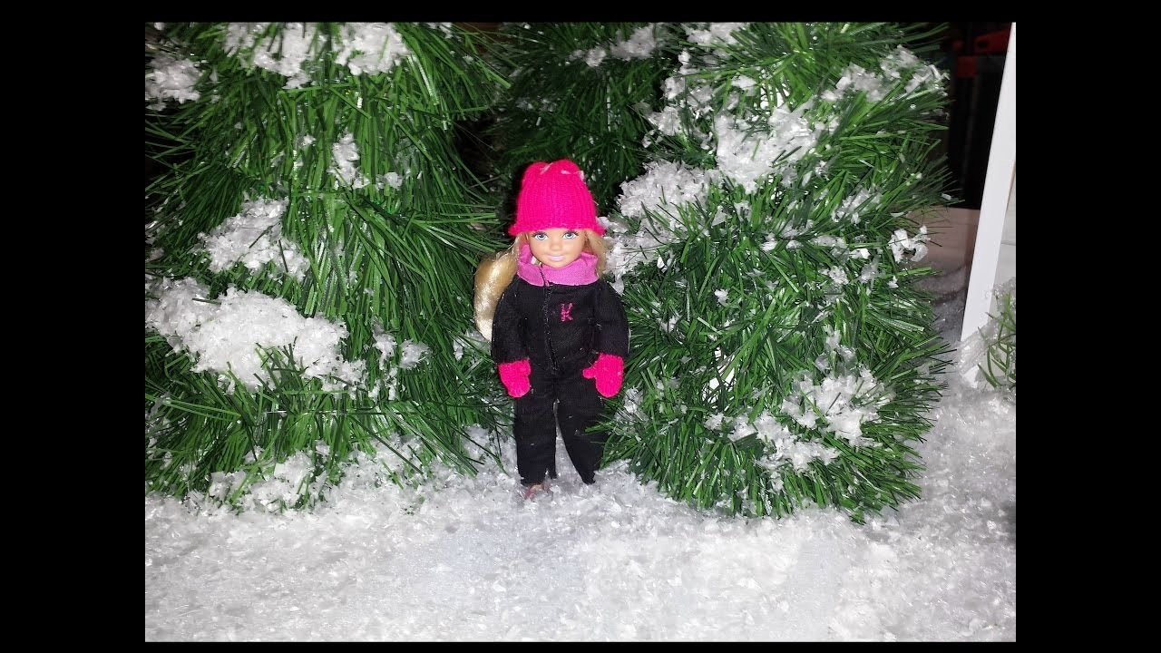 How to make a Doll Snow Suit