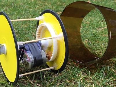 How to Make a Monowheel - incredible idea How to Make Car - Tutorial