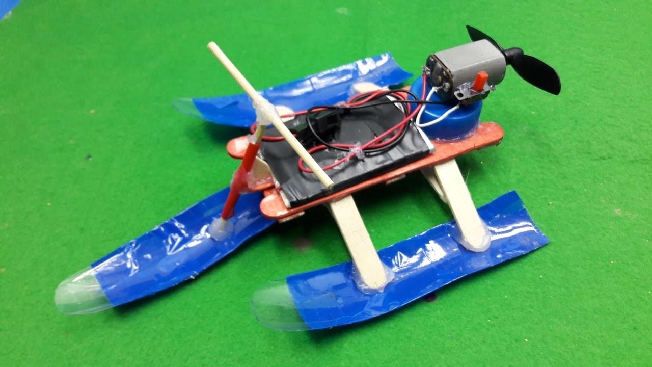 How to Make a Snowmobile - Air Car - Easy Way - Tutorial