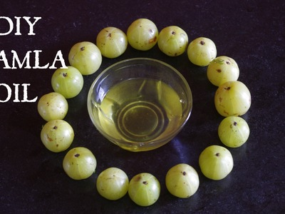 How To Make Amla Oil At Home- Herbal Oil For Hair Growth & Stop Pre-Mature Greying