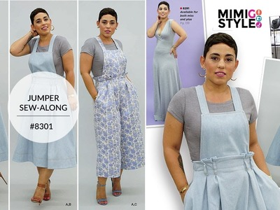 How to Sew Jumper with Mimi G Simplicity Pattern 8301