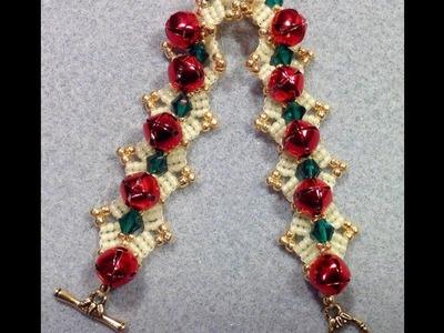 Jingle Bell Bracelet Tutorial