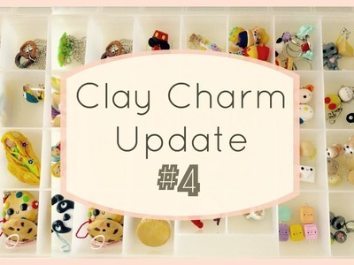 Kawaii Clay Charm Update #4 | Totoro charms, Chibis, Planners, & More