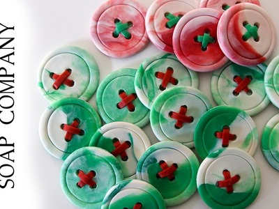 Make Holiday Soap Buttons by Sorcery Soap™