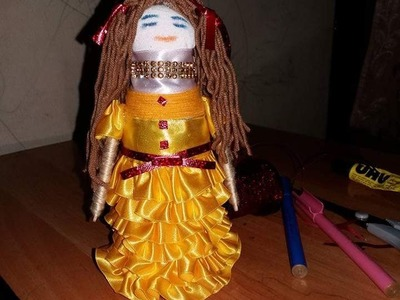 Making a Doll with Bottle.