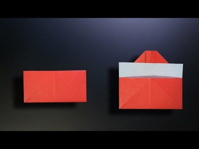 Origami: Simple Envelope - Instructions in English (BR)