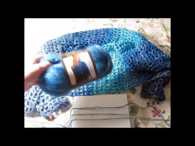 Review of Shawl in a Ball yarn - used in the Ebb Tide Shawl ~ Lisa's Pine Notes
