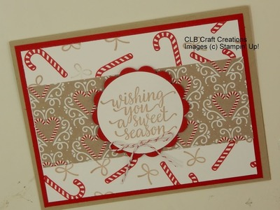 Stampin' Up! 2016 Holiday Card Series-Day 2