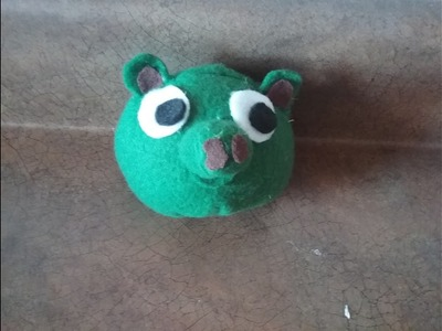 Tutorial on How to make the Angry Adventures Pig Plush