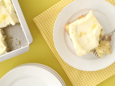 Vanilla Sheet Cake - Everyday Food with Sarah Carey