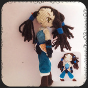 Crochet Pattern Avatar Korra Amigurumi Pdf