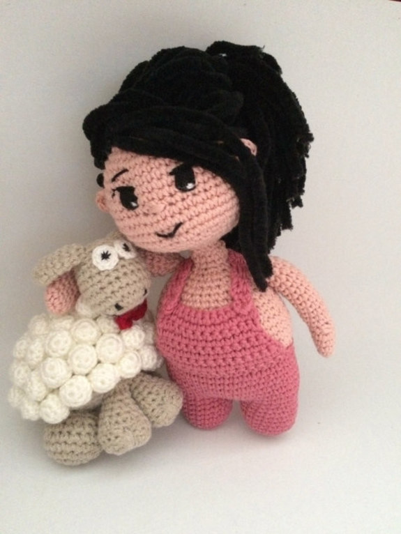 Cute Amigurumi Crochet Patterns : Crochet Pattern Cute Chubby Girl Amigurumi Pdf ...