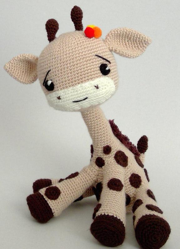Amigurumi Toys Pattern : Crochet Pattern Giraffee Toy Amigurumi Pdf - iremdesign ...